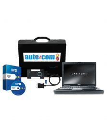 Solutie completa diagnoza Tester AutoCom CDP Bluetooth + Laptop Refurbised i5, 4 GB RAM, HDD 320 GB + Soft reparatii