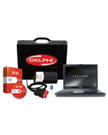 Solutie completa diagnoza Tester Delphi DS150 Bluetooth + Laptop Refurbised i5, 4 GB RAM, HDD 160 GB + Soft catalog reparatii